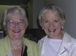 Prof. Janet Treasure and June Alexander.