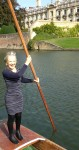 Freedom is - punting on the River Cam - at any age!