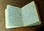My first of more than 50 diaries - words were my friends and writing a diary helped me not only survive but break free of my eating disorder.
