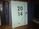 My diary for 2014 - for more than half a century, a diary has been part of my everyday life.